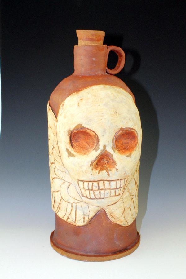 Skull Jug #1