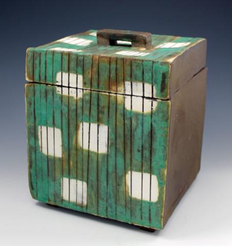 Large Striped Box
